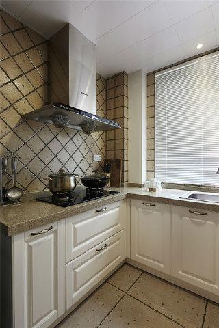 怀旧美式风格厨房设计装修图