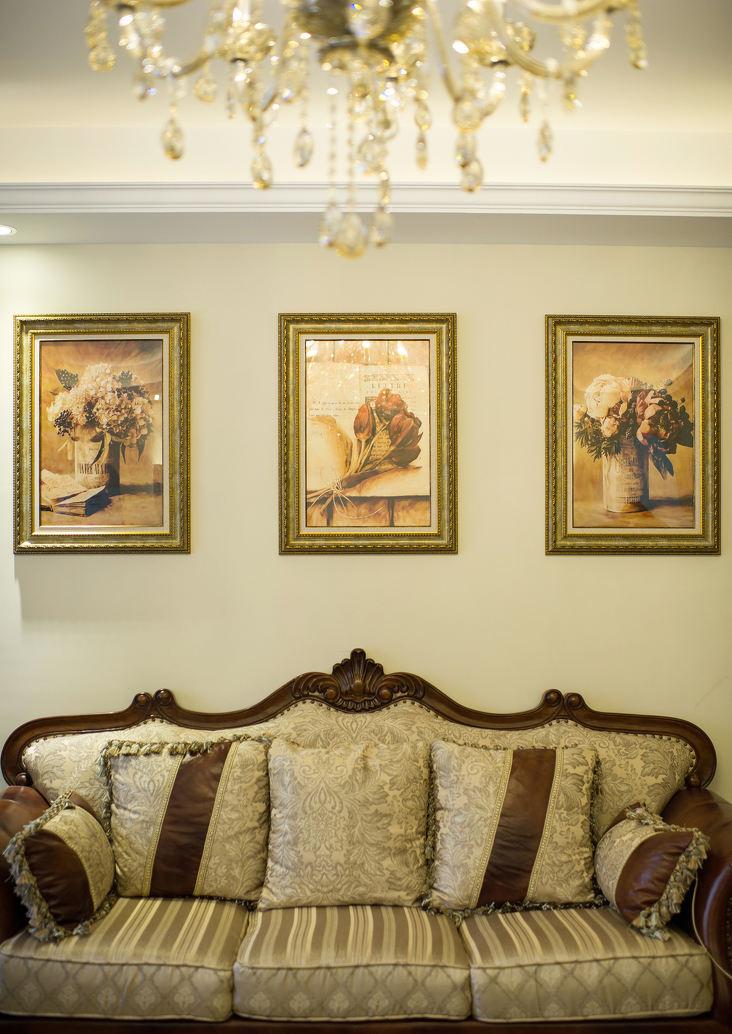 精美复古欧式相片墙设计效果图