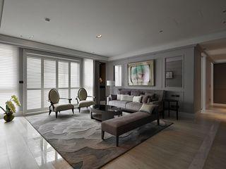 时尚现代风格装修公寓案例图
