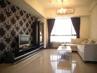 素雅现代家装三居客厅图