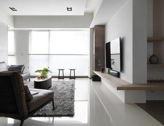 简约现代家居客厅装修设计