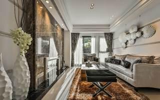 奢华后现代客厅家居设计大全