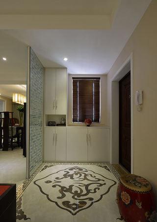 现代中式风玄关装修设计