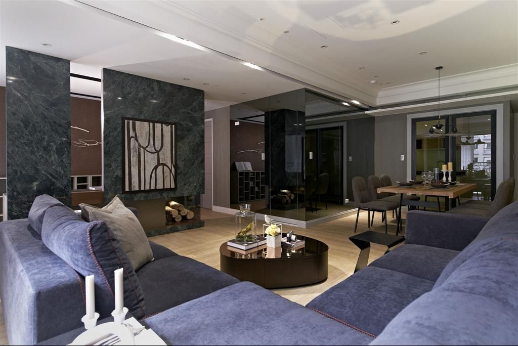 古朴典雅美式风格四居室室内装修效果图