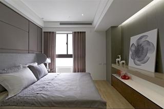 时尚简约现代卧室装修设计