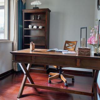 美式乡村风格书房家具装饰