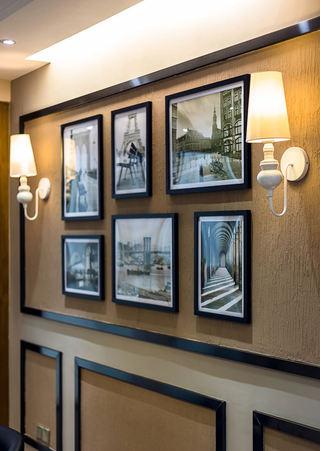 时尚现代家居相片墙装饰图