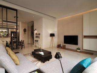 宜家日式客厅电视背景墙设计