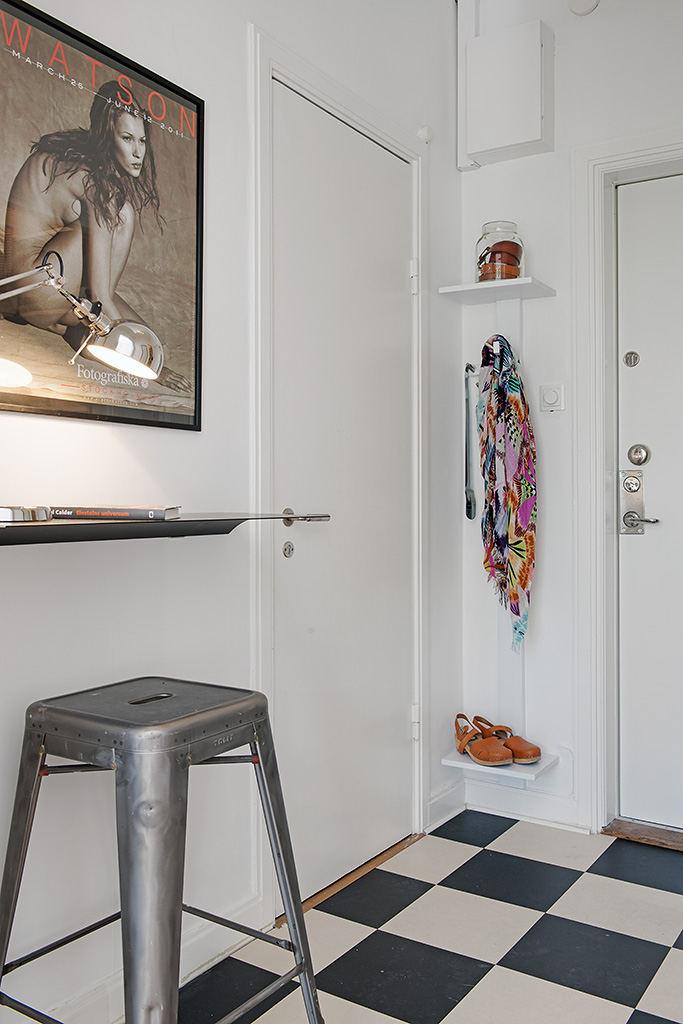 时尚摩登北欧风格设计家居玄关装修图片