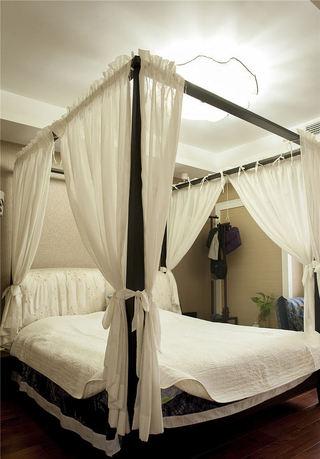 精致简约北欧风情 卧室双人床设计