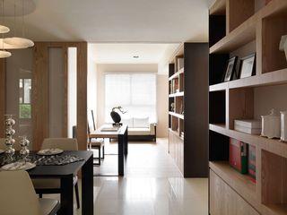 现代日式风 家居推拉门隔断设计