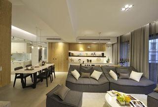 现代日式风三居家装设计