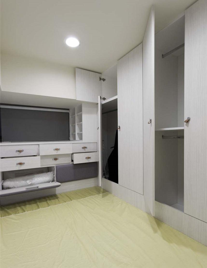 时尚极简宜家风家居衣柜设计