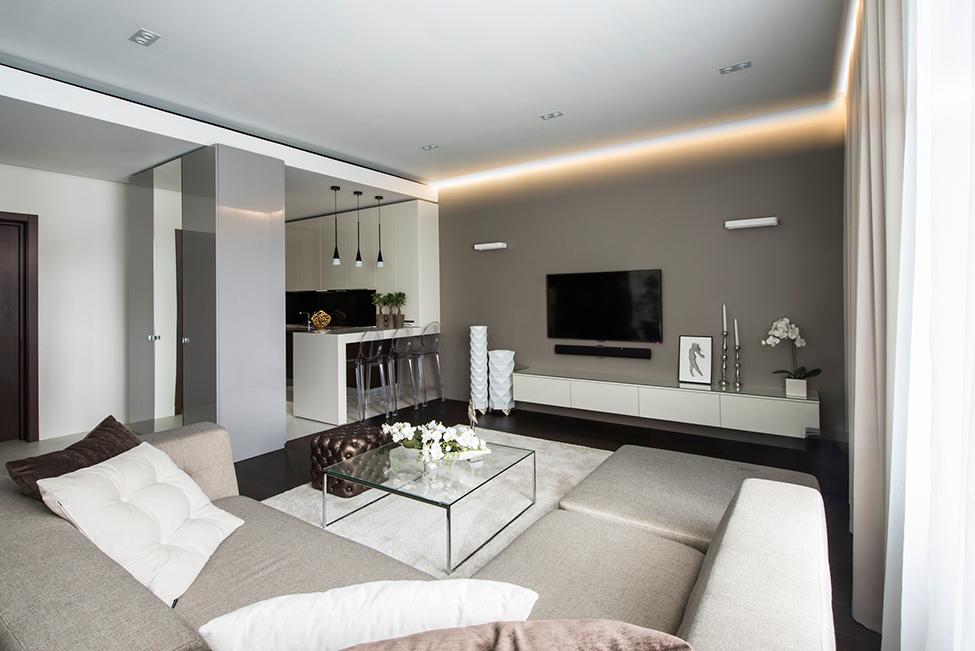 最新现代高雅公寓室内装潢图片