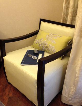 精致中式现代风沙发效果图