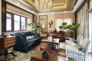 奢华中西合璧混搭客厅装饰大全