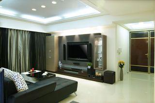5万半包打造的现代两居室