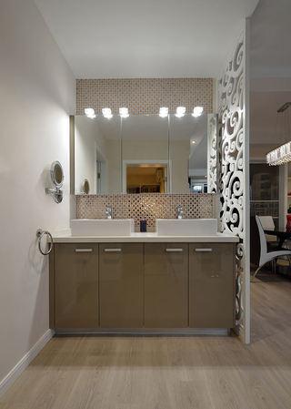 时尚现代家居洗手区设计