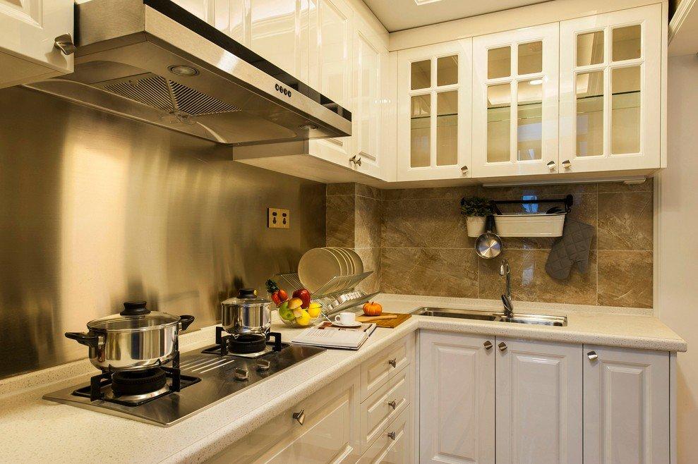 简约现代厨房橱柜效果图