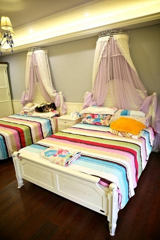 簡潔美式兒童房裝修效果圖