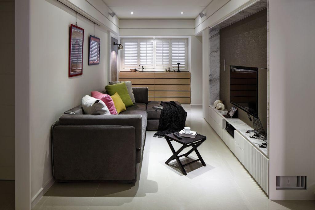 宜家风格小户型客厅装饰设计