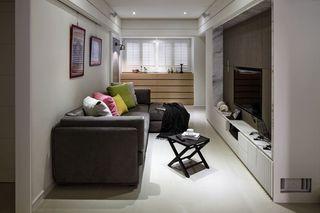 深色系现代宜家风小户型公寓设计
