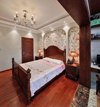 精美浪漫美式田园风家居卧室吊顶效果图