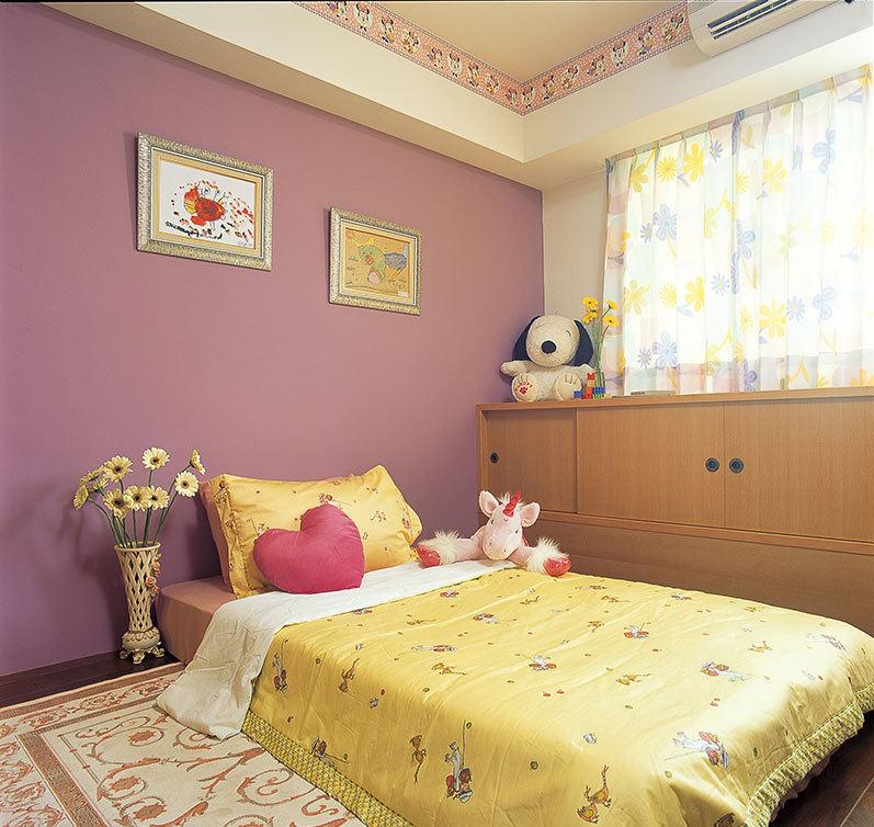 日式现代儿童房设计装潢图