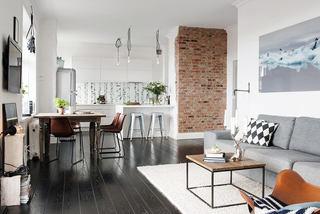 简约北欧风开放式公寓设计大全