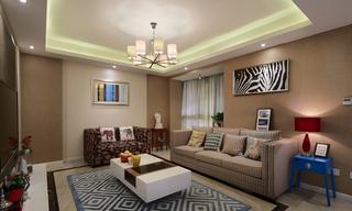 美式风格两室两厅设计装修