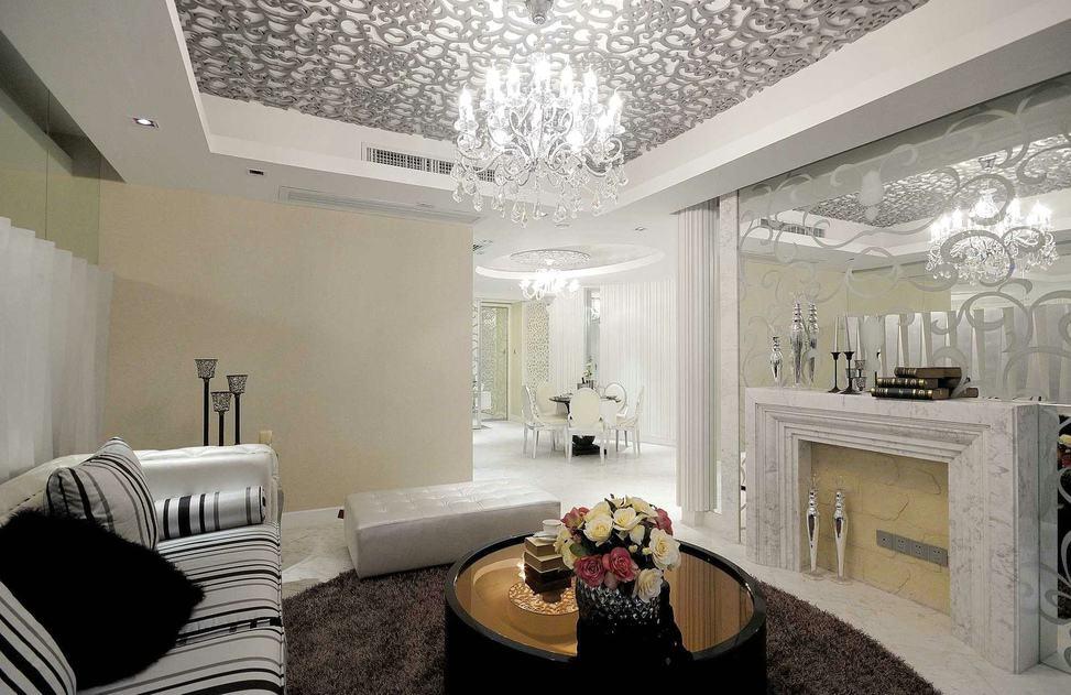 现代欧式装修风格二居室欣赏图