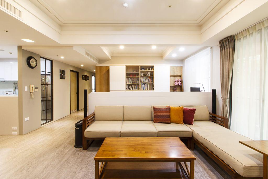 温馨简约宜家风公寓沙发效果图
