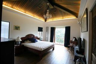 仿古中式风格卧室吊顶效果图