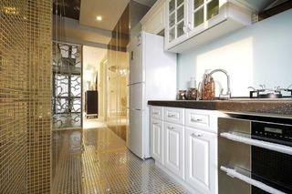 现代欧式厨房马赛克瓷砖装饰图