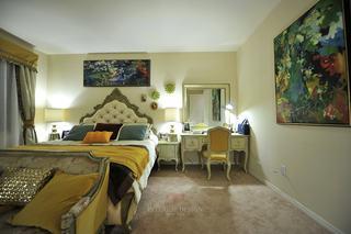 精美复古北欧风情卧室效果图