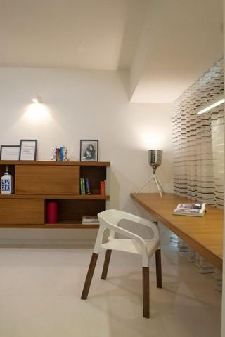 温馨简约宜家书房家居设计效果图