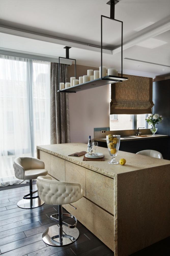美式风格家居吧台设计