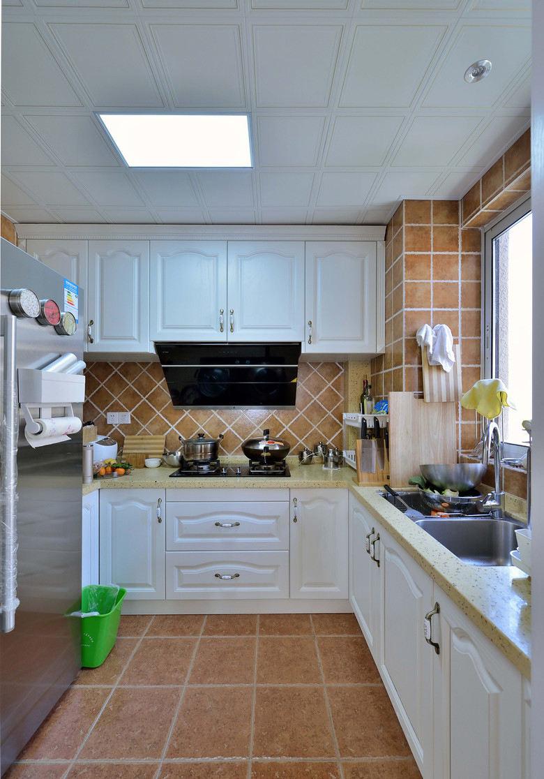 乡村美式厨房橱柜设计