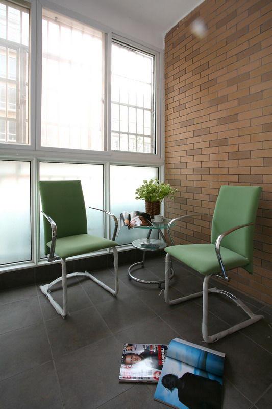时尚休闲现代家居阳台窗户设计