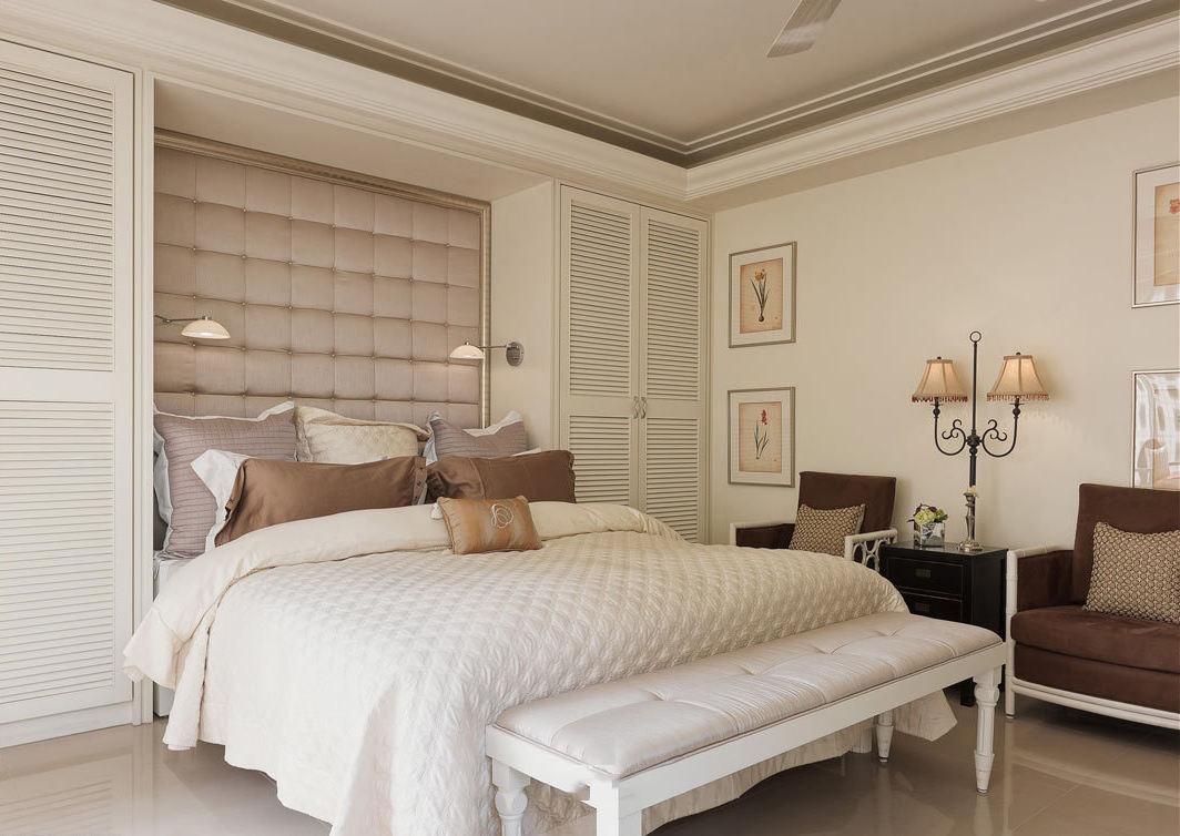 简朴新古典卧室装修图