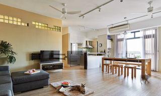 宜家日式公寓开放式家居装潢设计