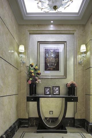 高端时尚美式风格玄关设计装修图