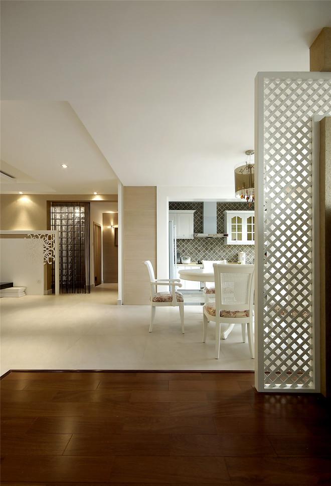 简约家居室内窗棂隔断设计