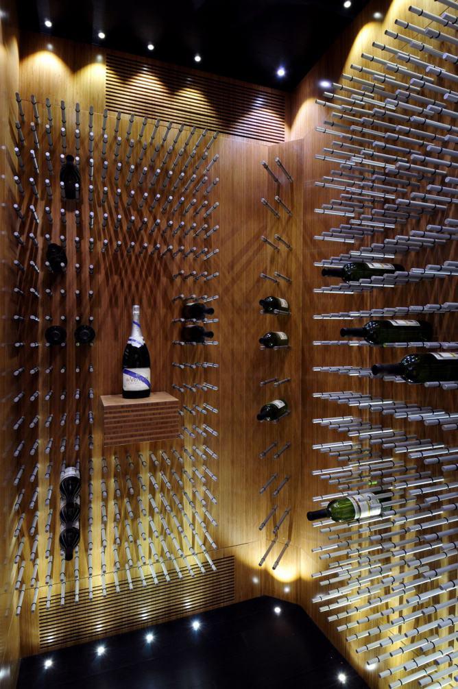时尚现代风多功能酒柜设计