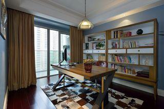 清新时尚混搭书房装修图