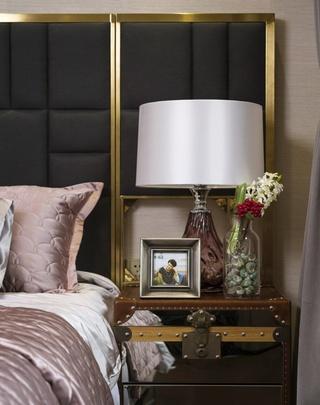 美式混搭风卧室台灯设计