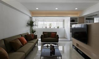 8万元打造简约现代两居室