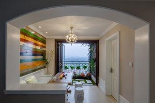 休闲美式风格家居阳台设计