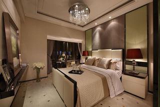 时尚精致现代风卧室背景墙装饰