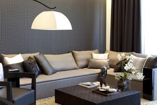 时尚后现代客厅沙发靠垫欣赏